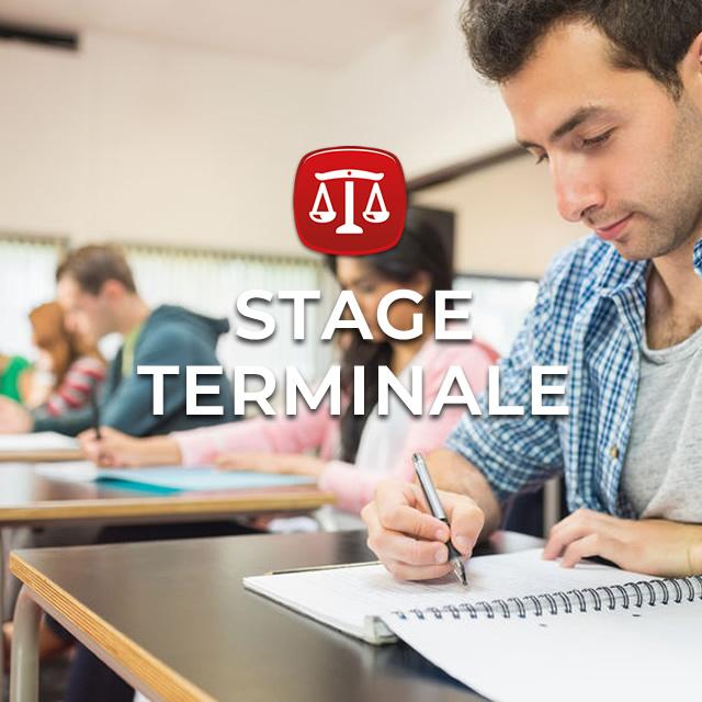 Stage Terminale Droit